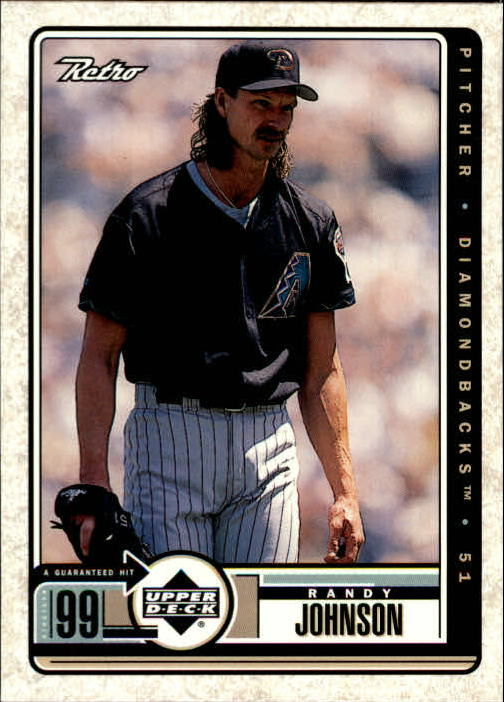 1999 Upper Deck Retro #4 Randy Johnson