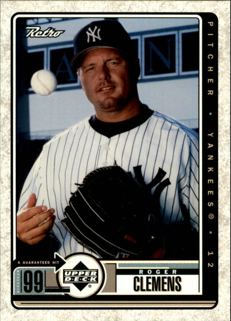 1999 Upper Deck Retro #56 Roger Clemens