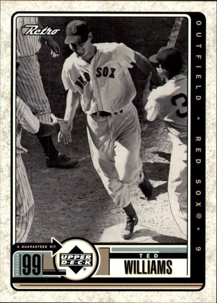 1999 Upper Deck Retro #96 Ted Williams