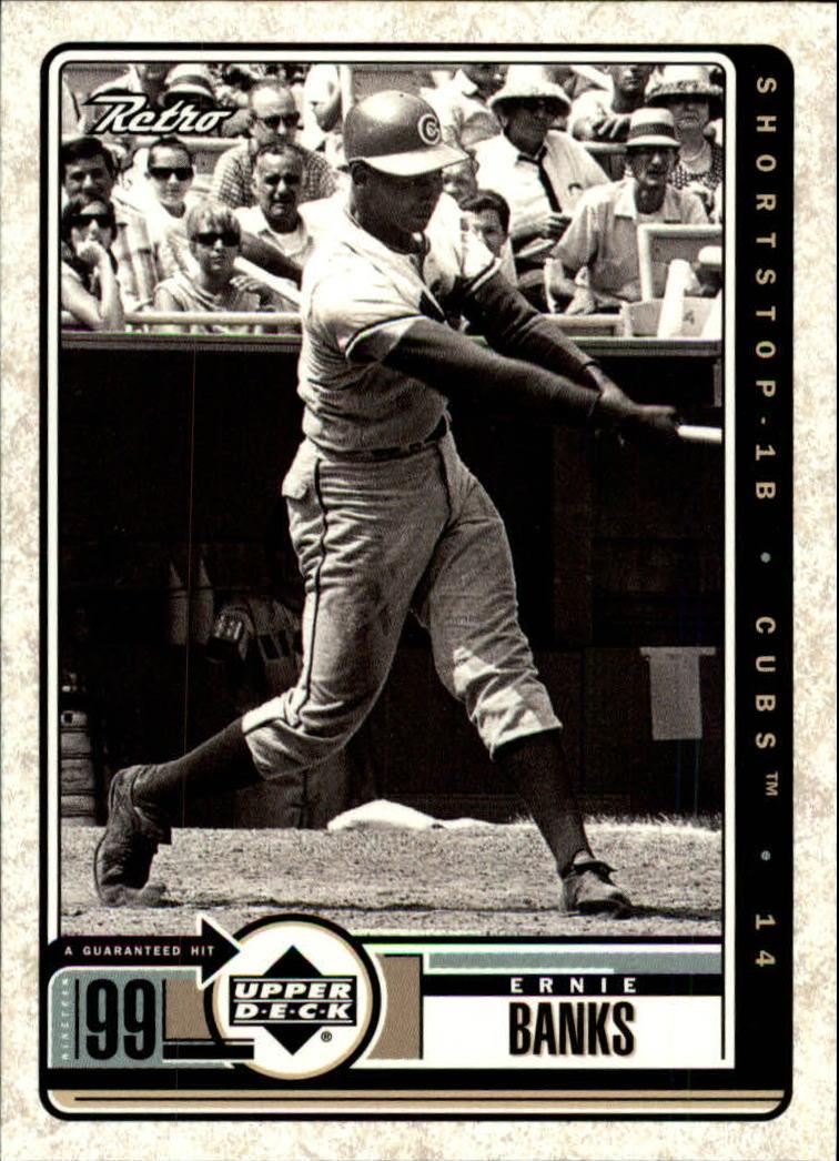 1999 Upper Deck Retro #108 Ernie Banks