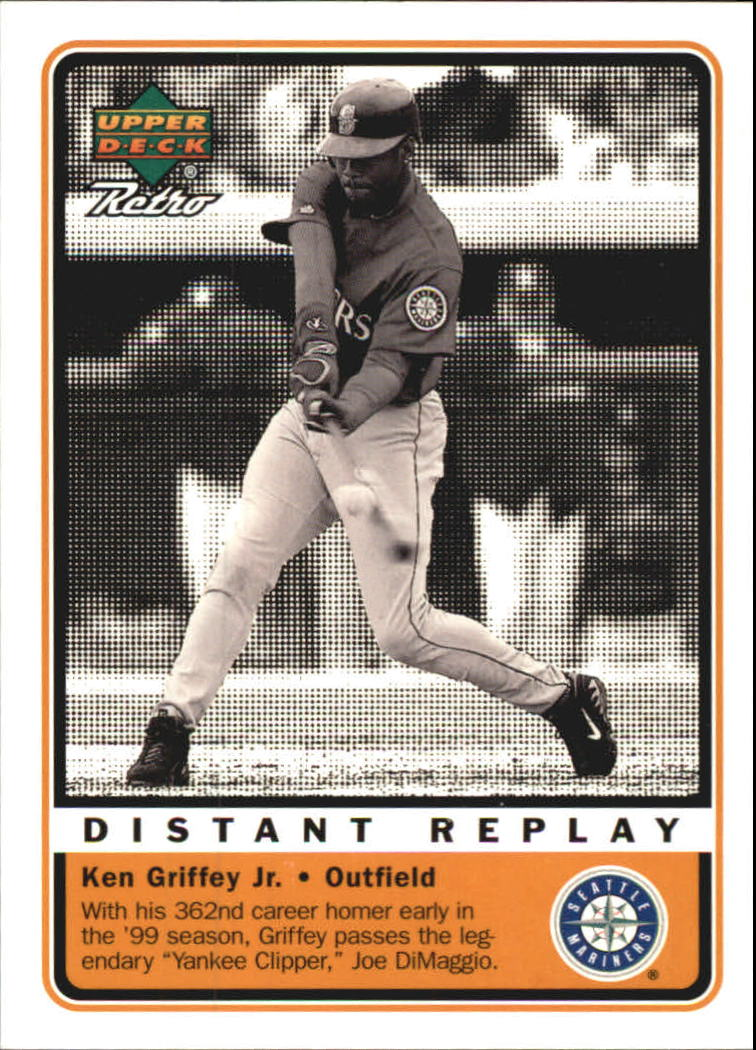 1999 Upper Deck Retro Distant Replay #D1 Ken Griffey Jr.