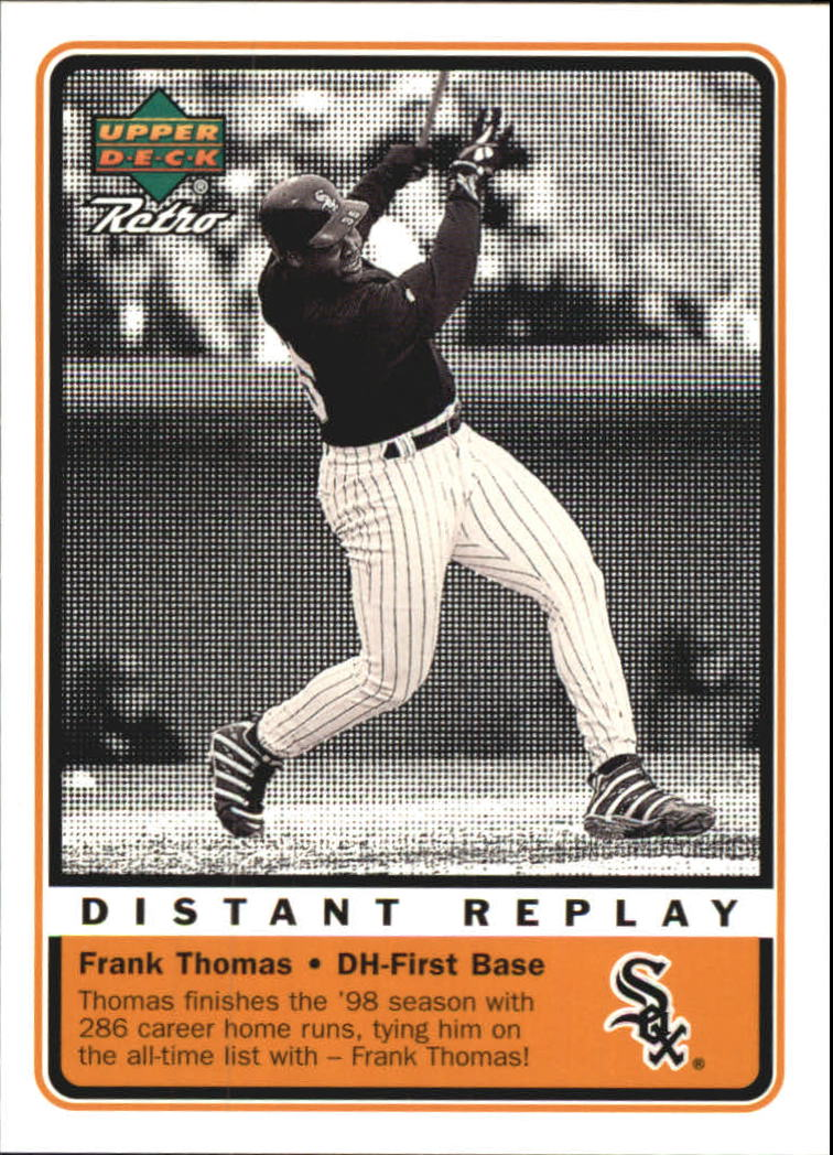 1999 Upper Deck Retro Distant Replay #D8 Frank Thomas
