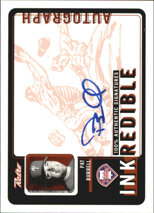 1999 Upper Deck Retro Inkredible #PB Pat Burrell