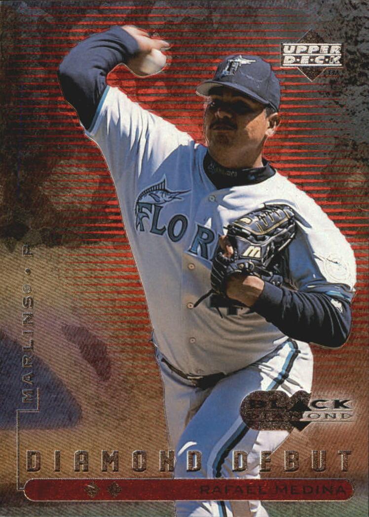 1999 Black Diamond Double #102 Rafael Medina DD