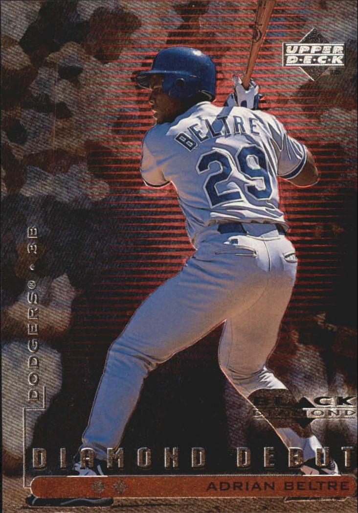1999 Black Diamond Double #105 Adrian Beltre DD