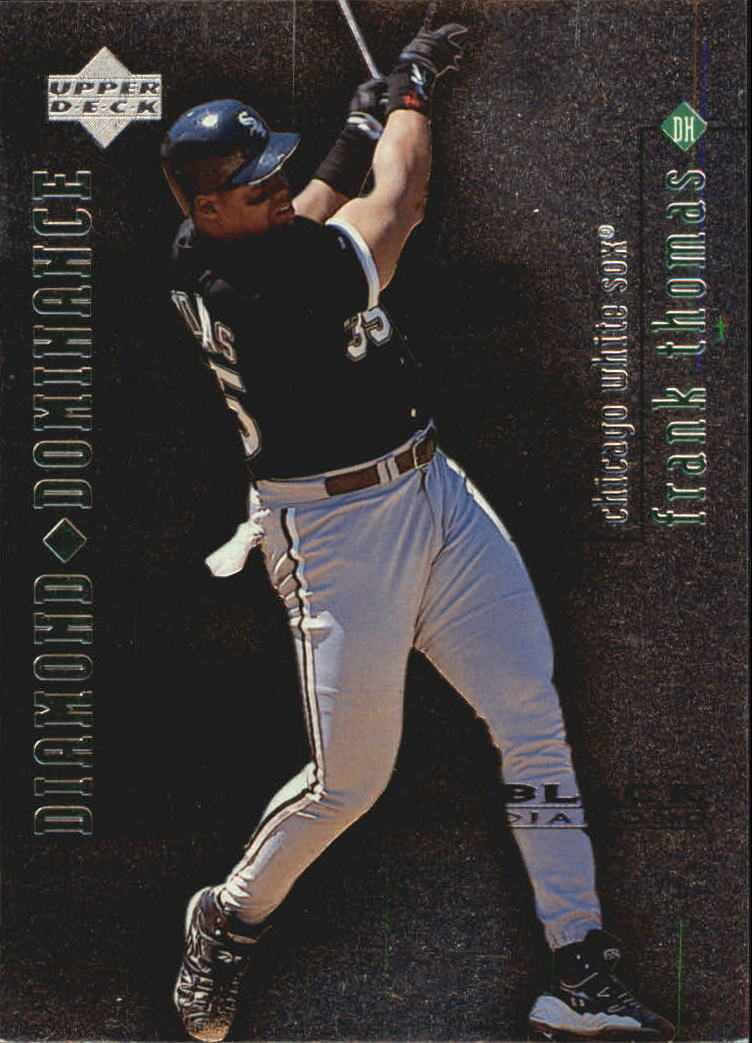 1999 Black Diamond Dominance #D4 Frank Thomas