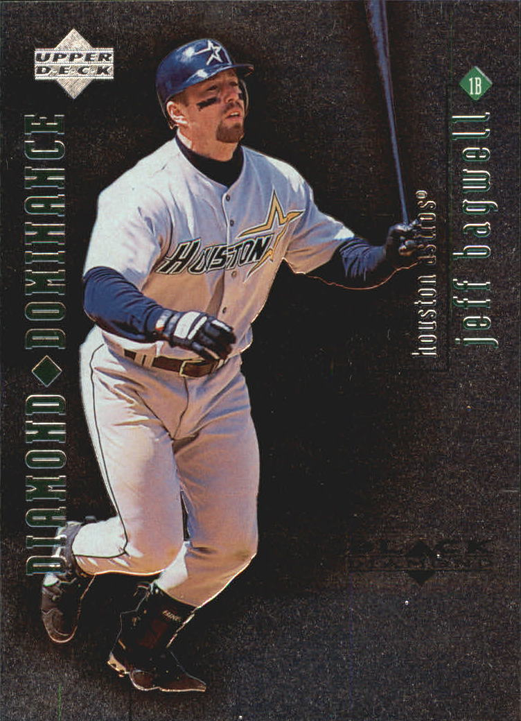 1999 Black Diamond Dominance #D5 Jeff Bagwell