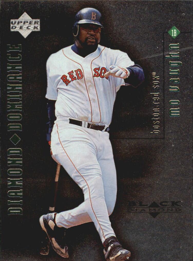1999 Black Diamond Dominance #D6 Mo Vaughn