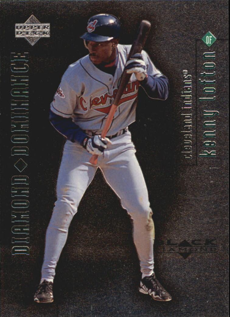 1999 Black Diamond Dominance #D11 Kenny Lofton