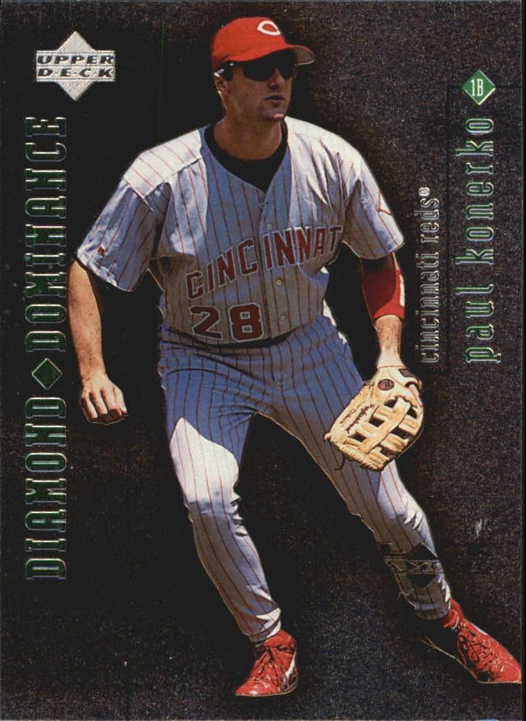 1999 Black Diamond Dominance #D12 Paul Konerko