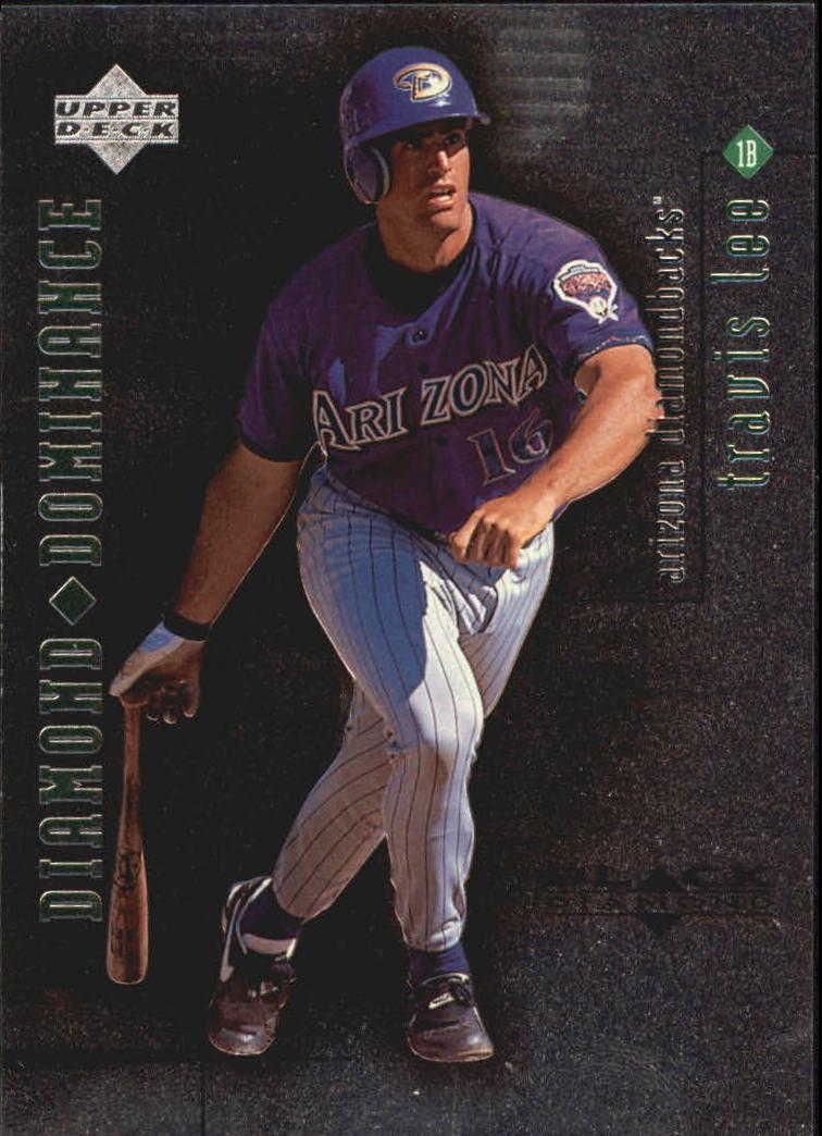 1999 Black Diamond Dominance #D16 Travis Lee