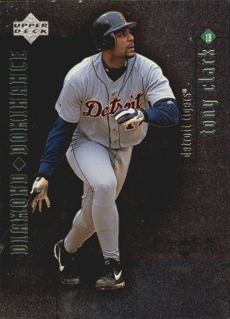 1999 Black Diamond Dominance #D20 Tony Clark