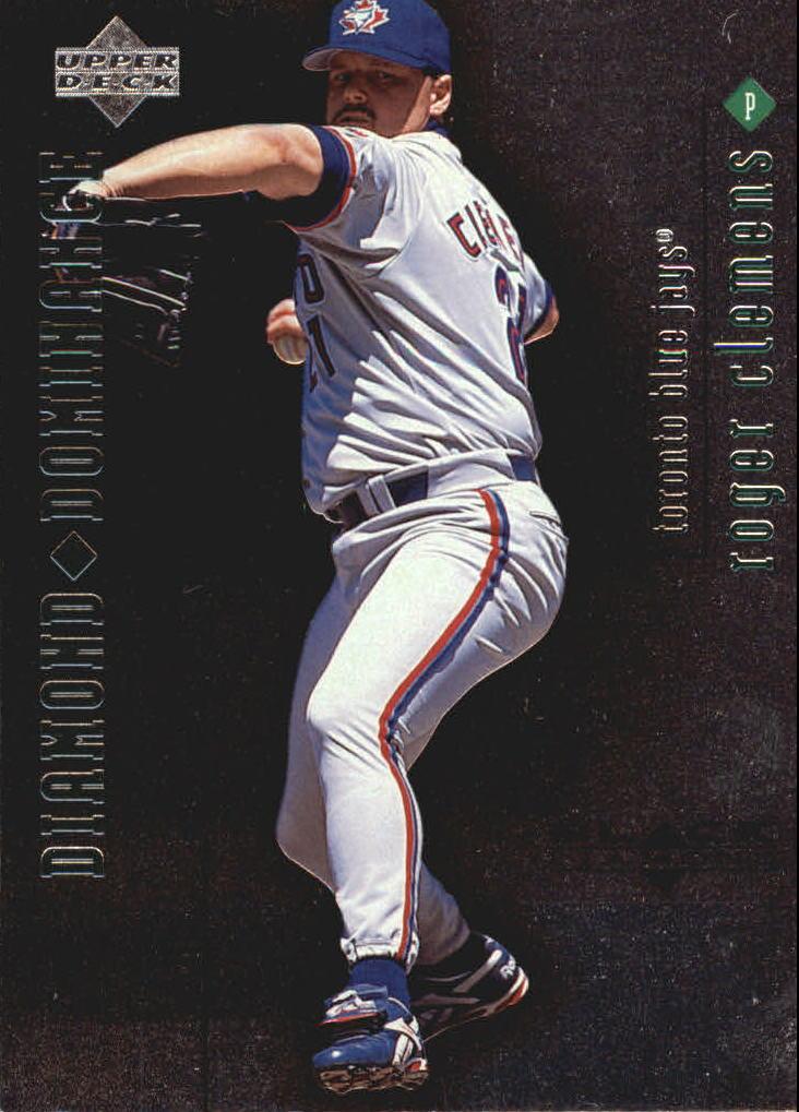 1999 Black Diamond Dominance #D21 Roger Clemens