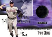 1999 E-X Century Authen-Kicks #5 Troy Glaus/205