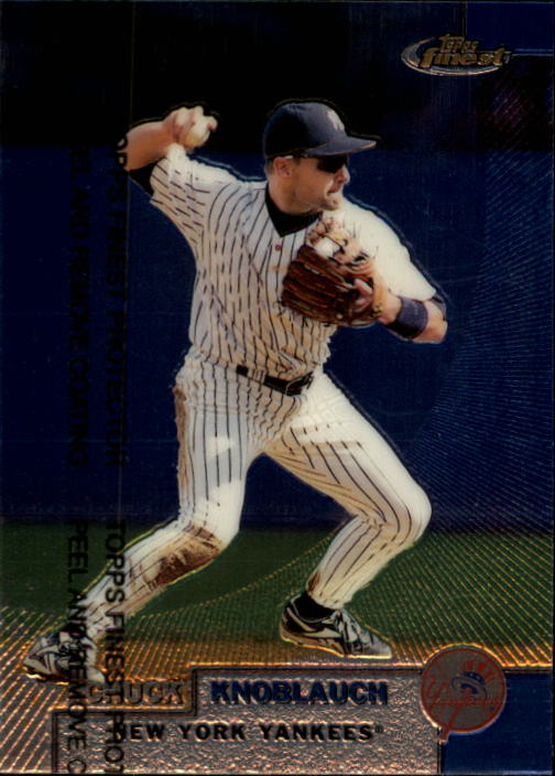 1999 Finest #241 Chuck Knoblauch