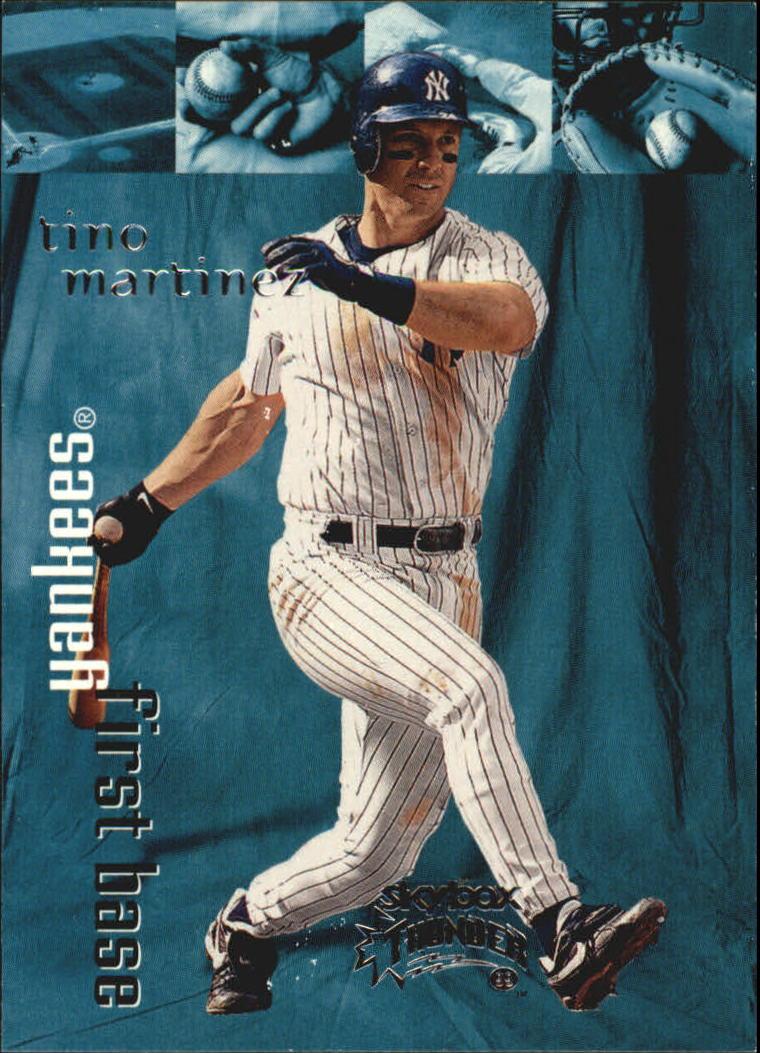 1999 SkyBox Thunder #230 Tino Martinez