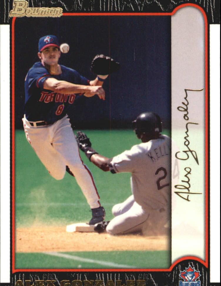 1999 Bowman Gold #63 Alex Gonzalez