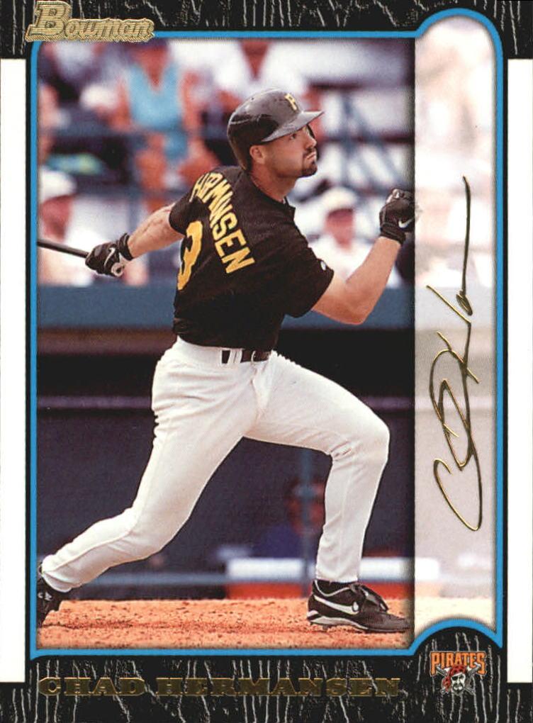 1999 Bowman Gold #163 Chad Hermansen