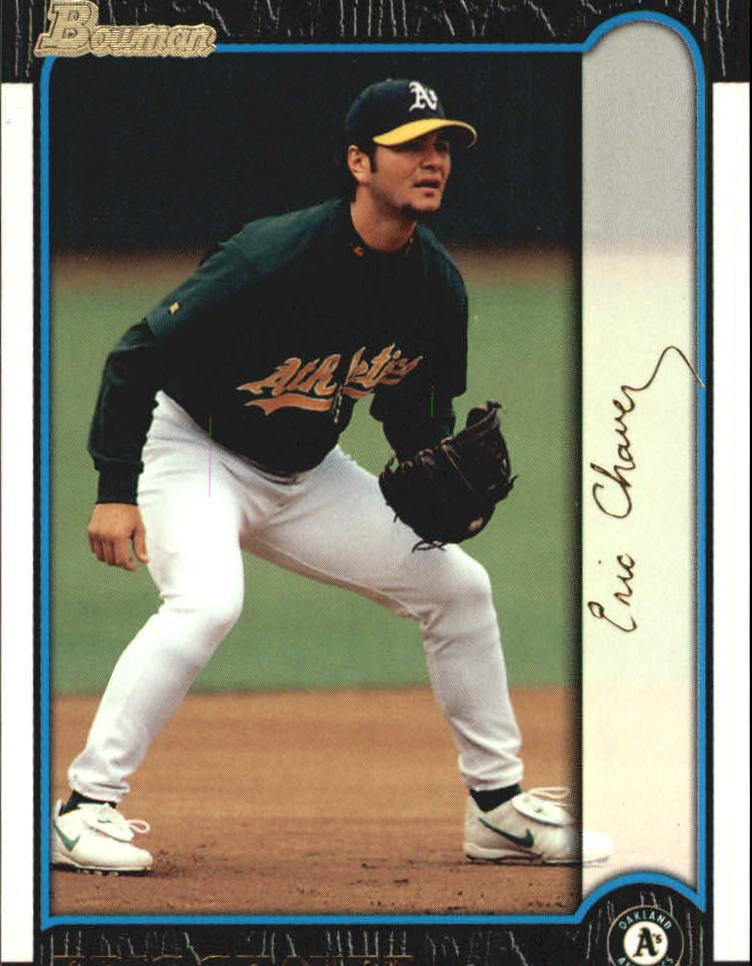 1999 Bowman Gold #330 Eric Chavez