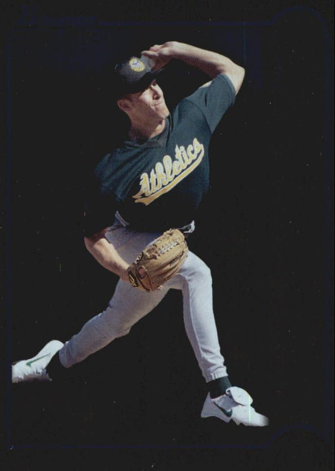 1999 Bowman International #355 Mark Mulder