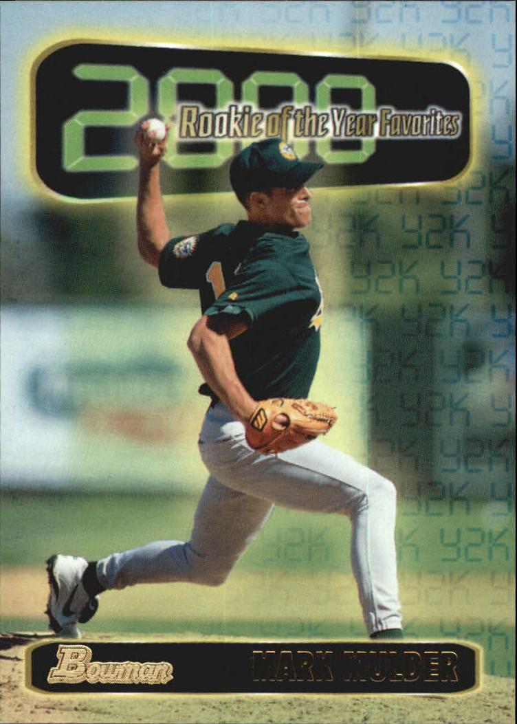 1999 Bowman 2000 ROY Favorites #ROY7 Mark Mulder