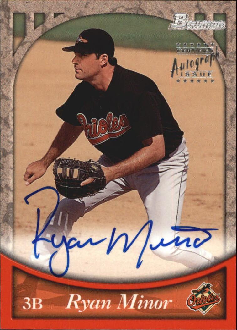 1999 Bowman Autographs #BA8 Ryan Minor S