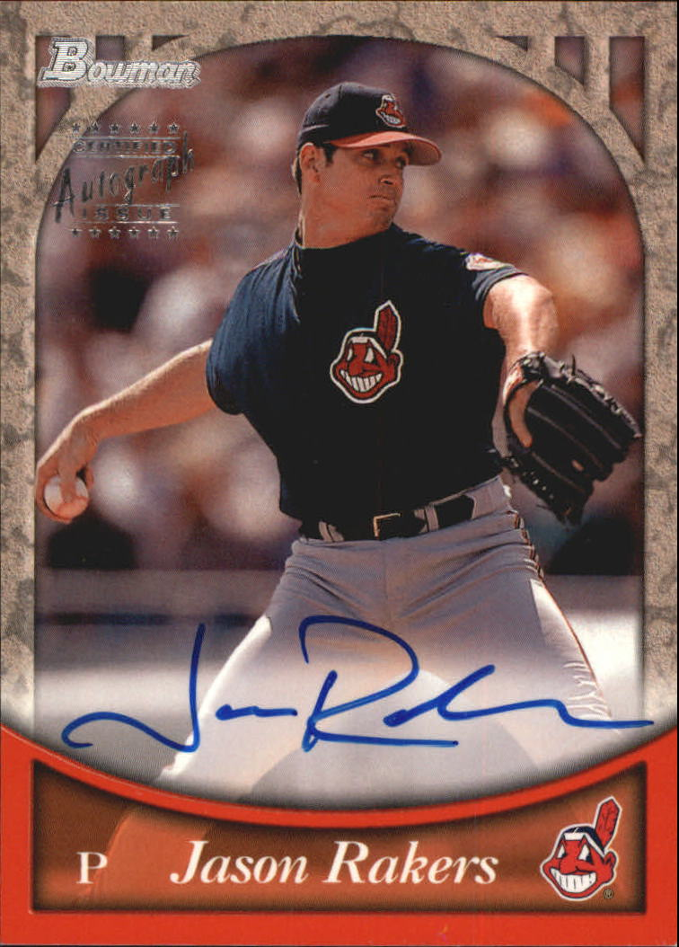 1999 Bowman Autographs #BA16 Jason Rakers S