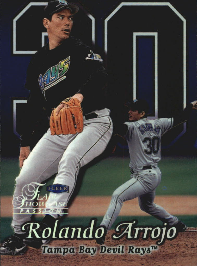 1999 Flair Showcase Row 2 #103 Rolando Arrojo