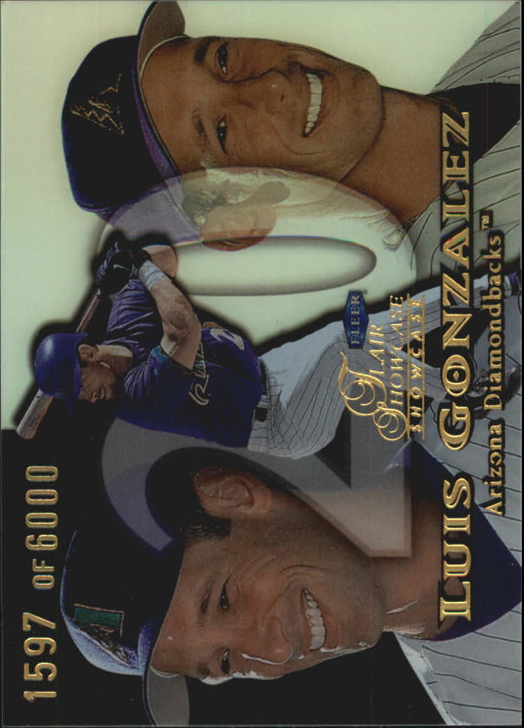 1999 Flair Showcase Row 1 #122 Luis Gonzalez