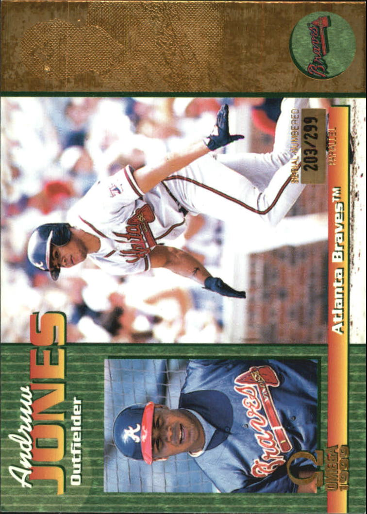 1999 Pacific Omega Gold #21 Andruw Jones