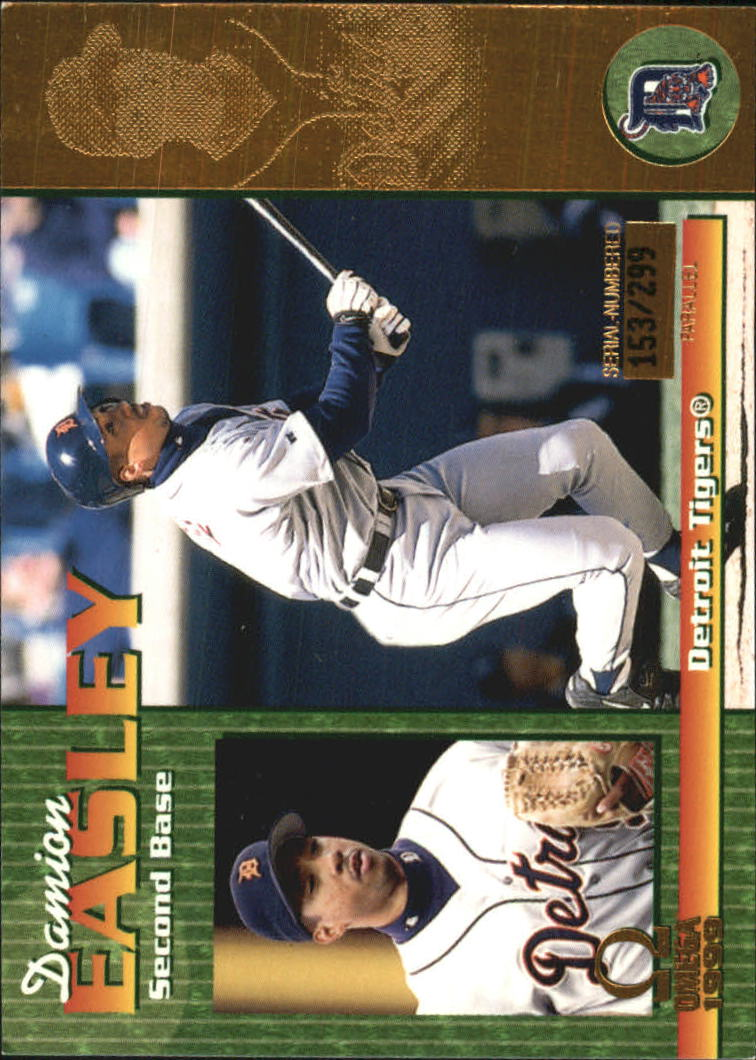1999 Pacific Omega Gold #88 Damion Easley