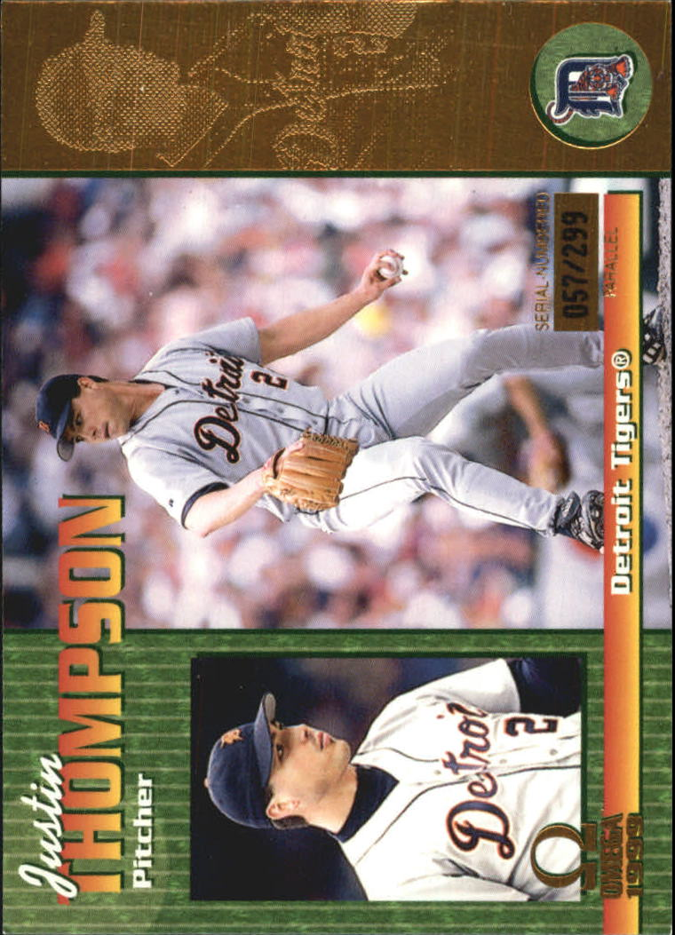1999 Pacific Omega Gold #93 Justin Thompson