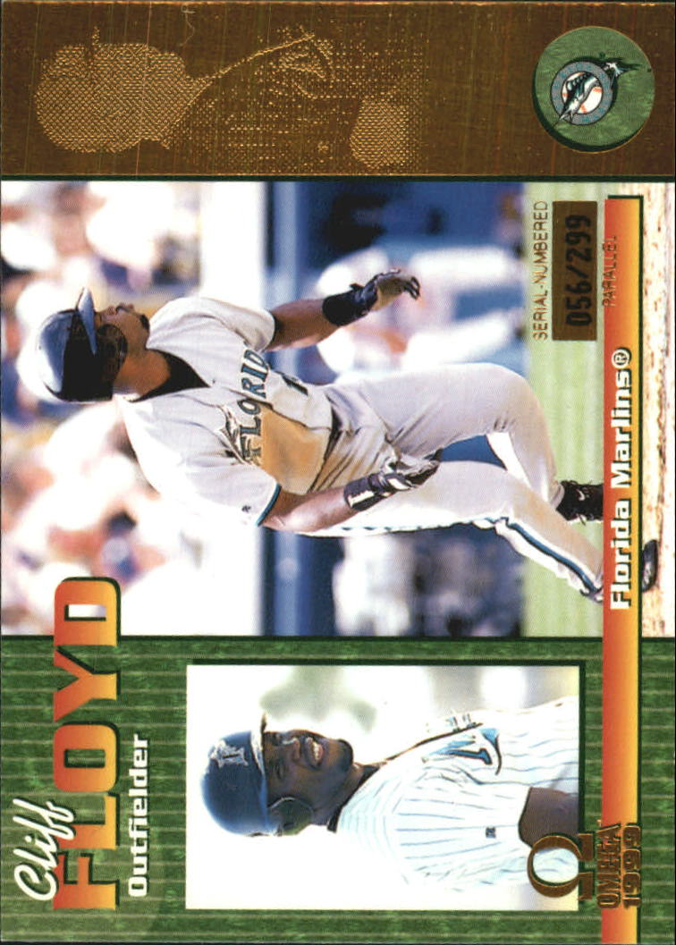 1999 Pacific Omega Gold #98 Cliff Floyd