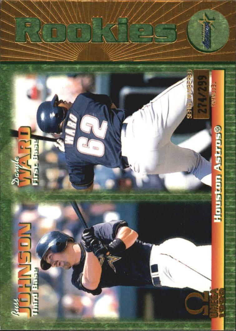 1999 Pacific Omega Gold #110 R.Johnson/D.Ward
