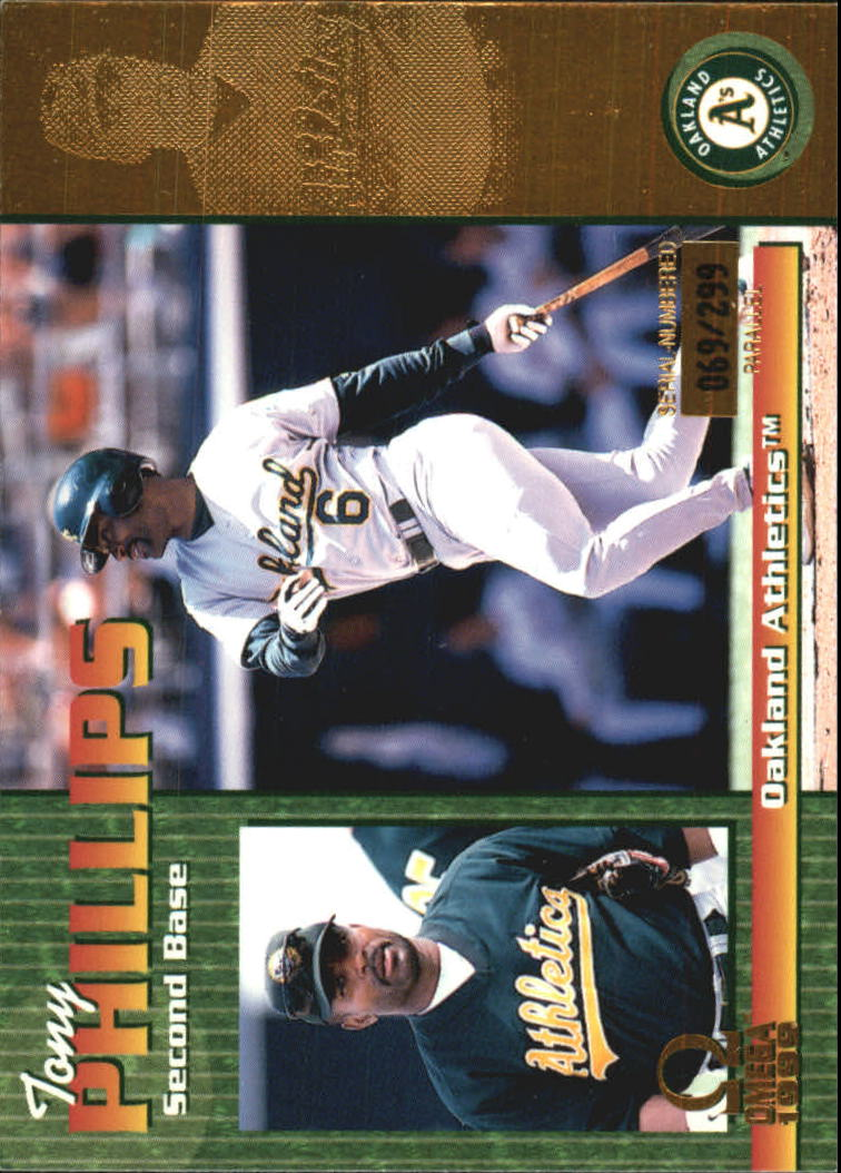1999 Pacific Omega Gold #172 Tony Phillips