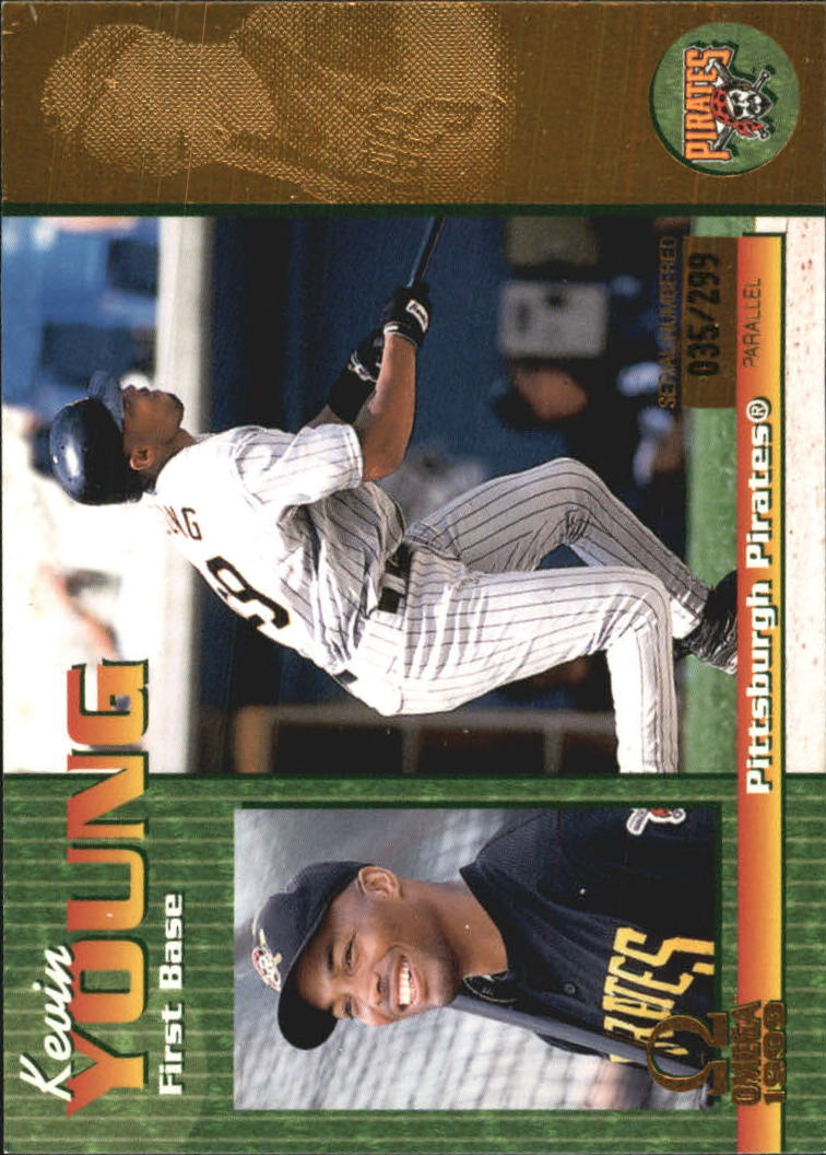 1999 Pacific Omega Gold #190 Kevin Young