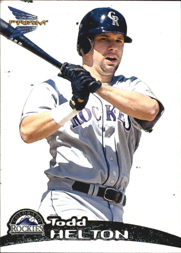 1999 Pacific Prism #52 Todd Helton