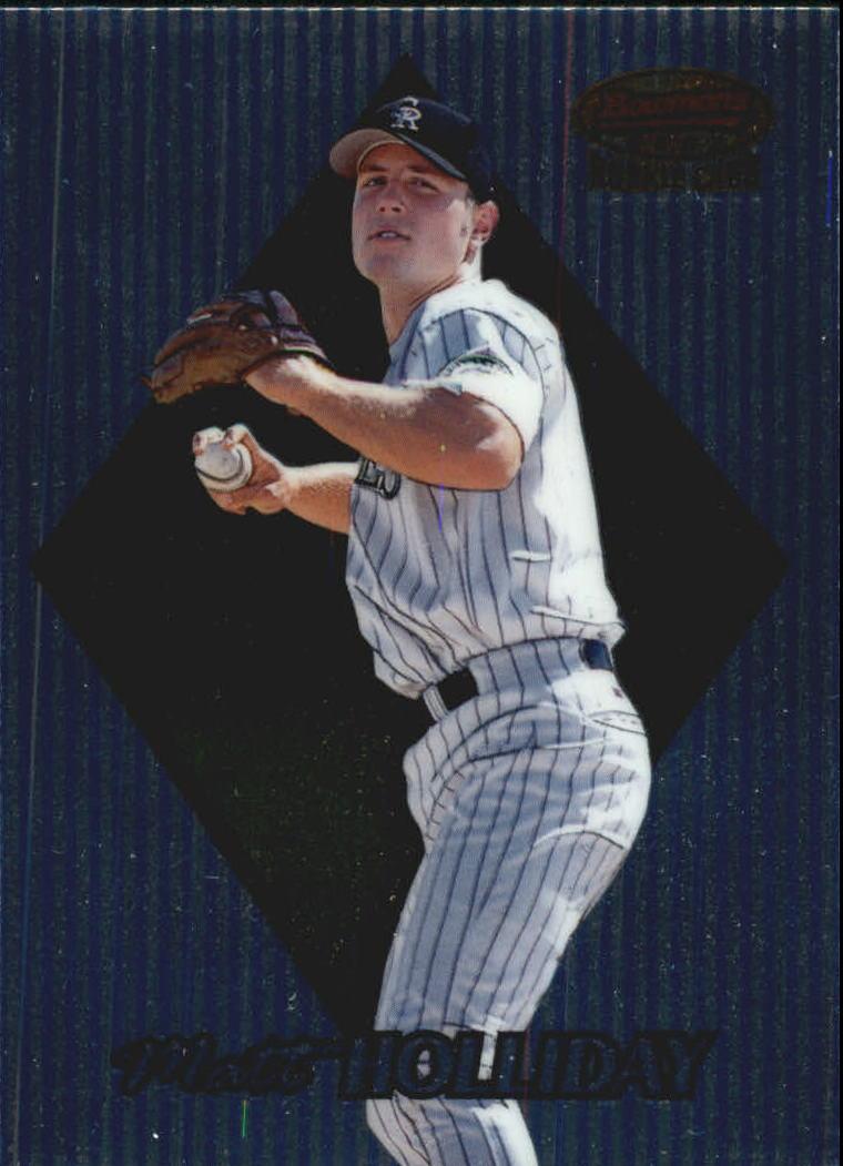 1999 Bowman's Best #172 Matt Holliday RC