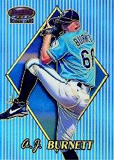 1999 Bowman's Best Refractors #155 A.J. Burnett