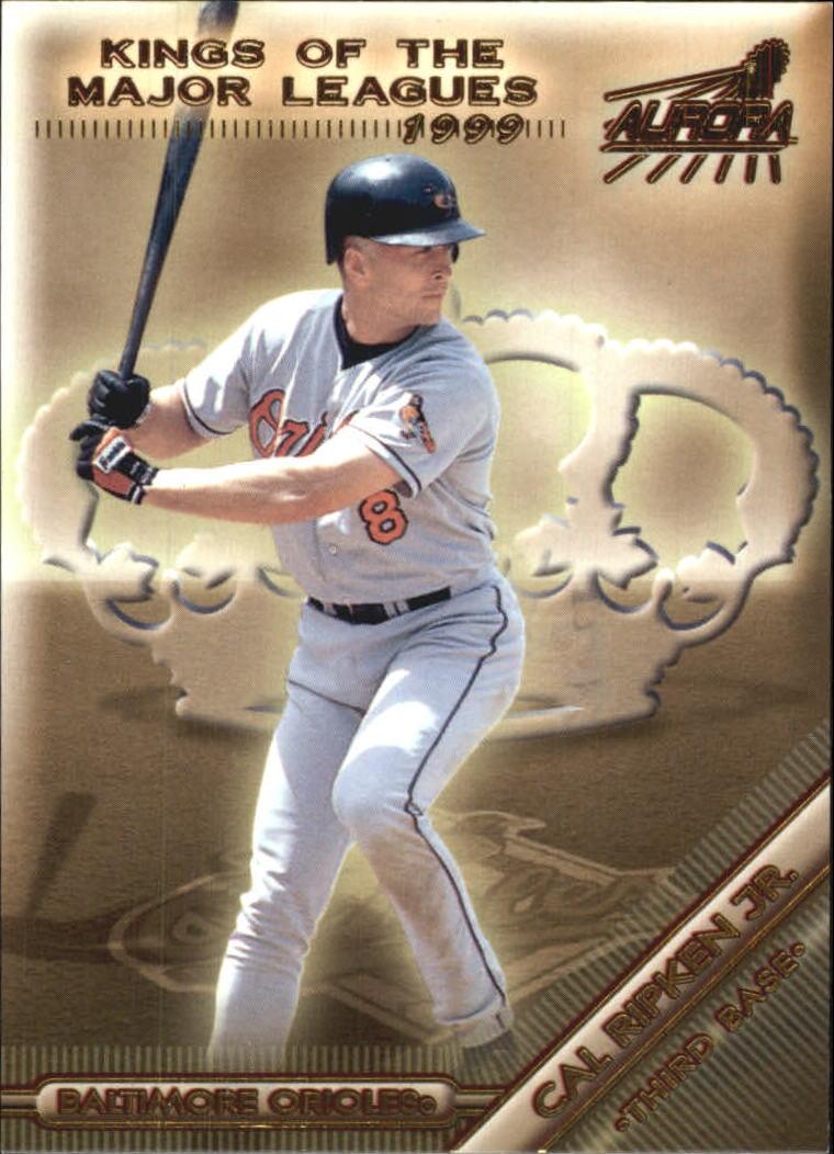 1999 Aurora Kings of the Major Leagues #1 Cal Ripken