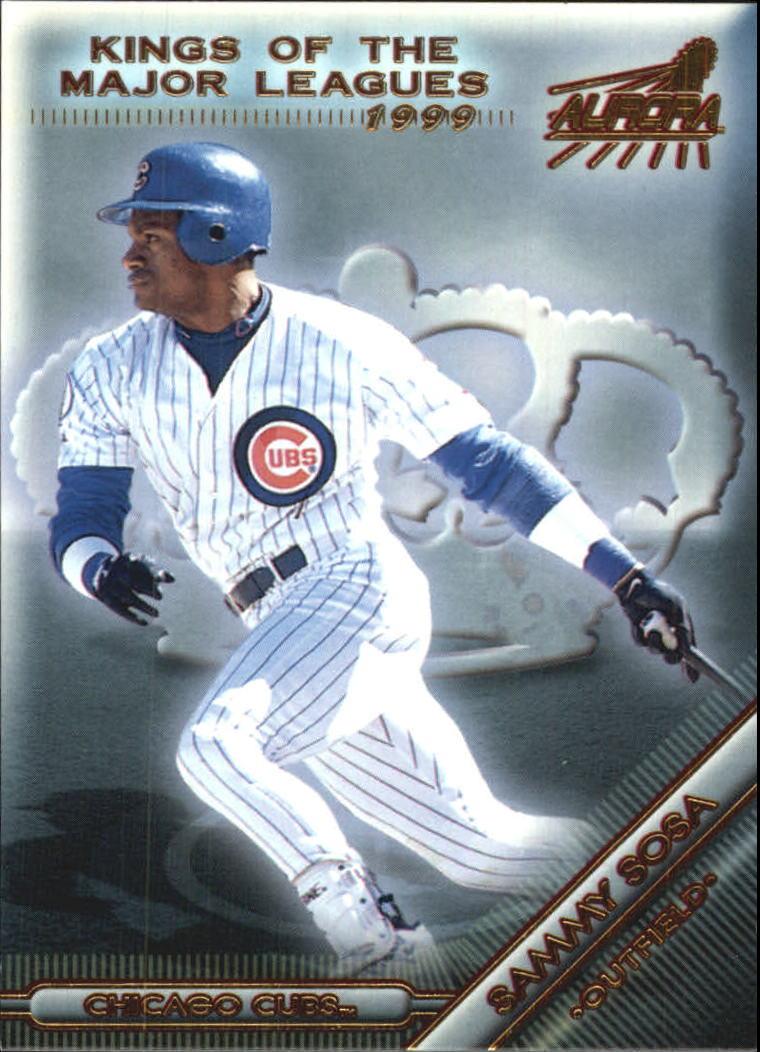 1999 Aurora Kings of the Major Leagues #3 Sammy Sosa