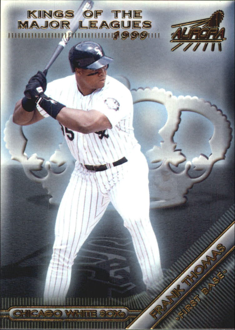 1999 Aurora Kings of the Major Leagues #5 Frank Thomas