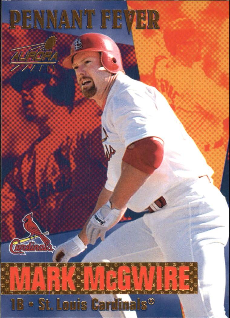 1999 Aurora Pennant Fever #15 Mark McGwire