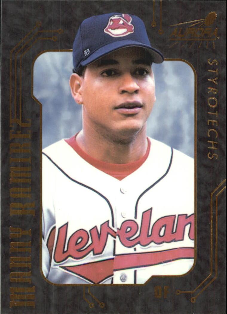 1999 Aurora Styrotechs #8 Manny Ramirez