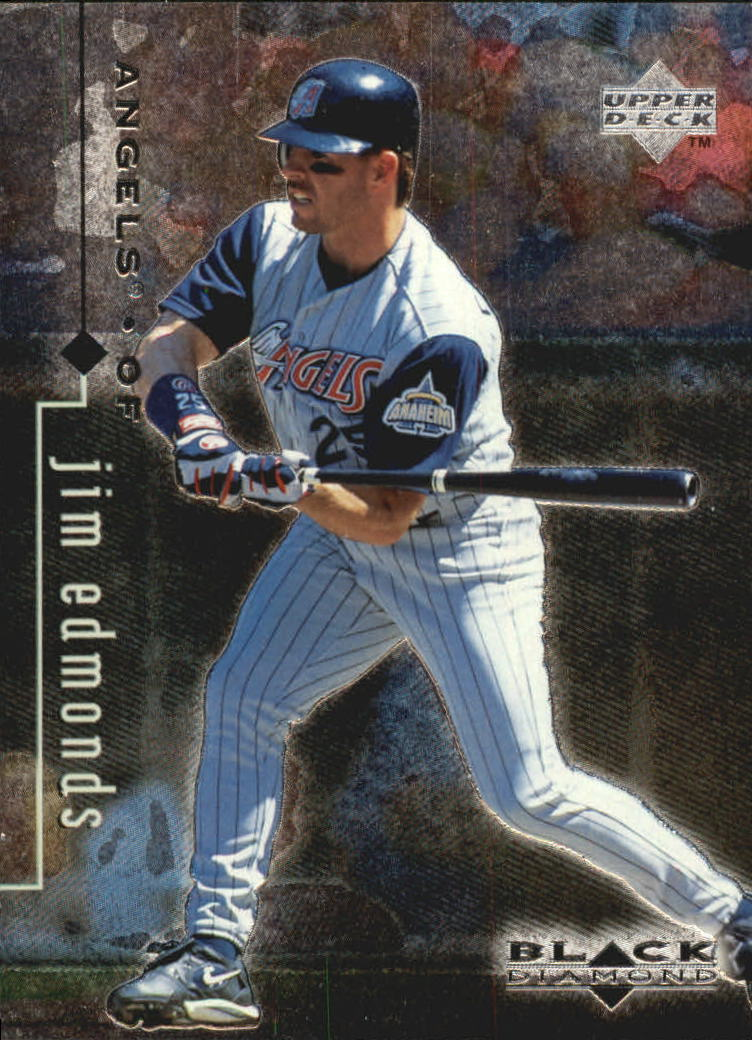 1999 Black Diamond #3 Jim Edmonds