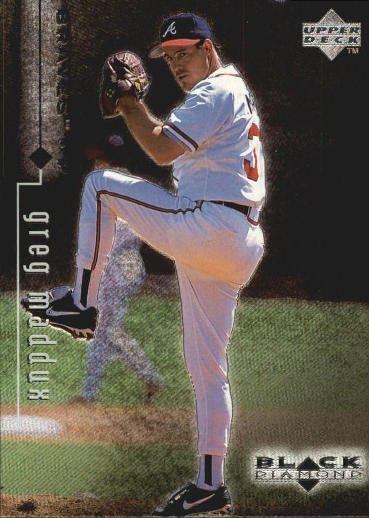 1999 Black Diamond #9 Greg Maddux