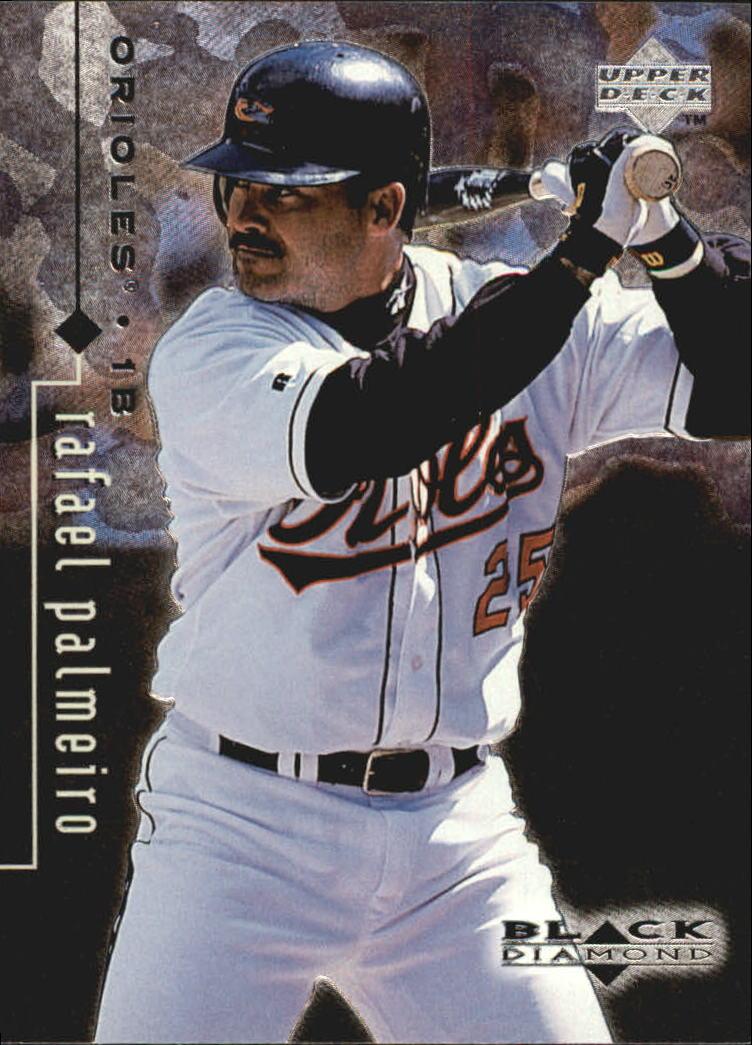 1999 Black Diamond #12 Rafael Palmeiro