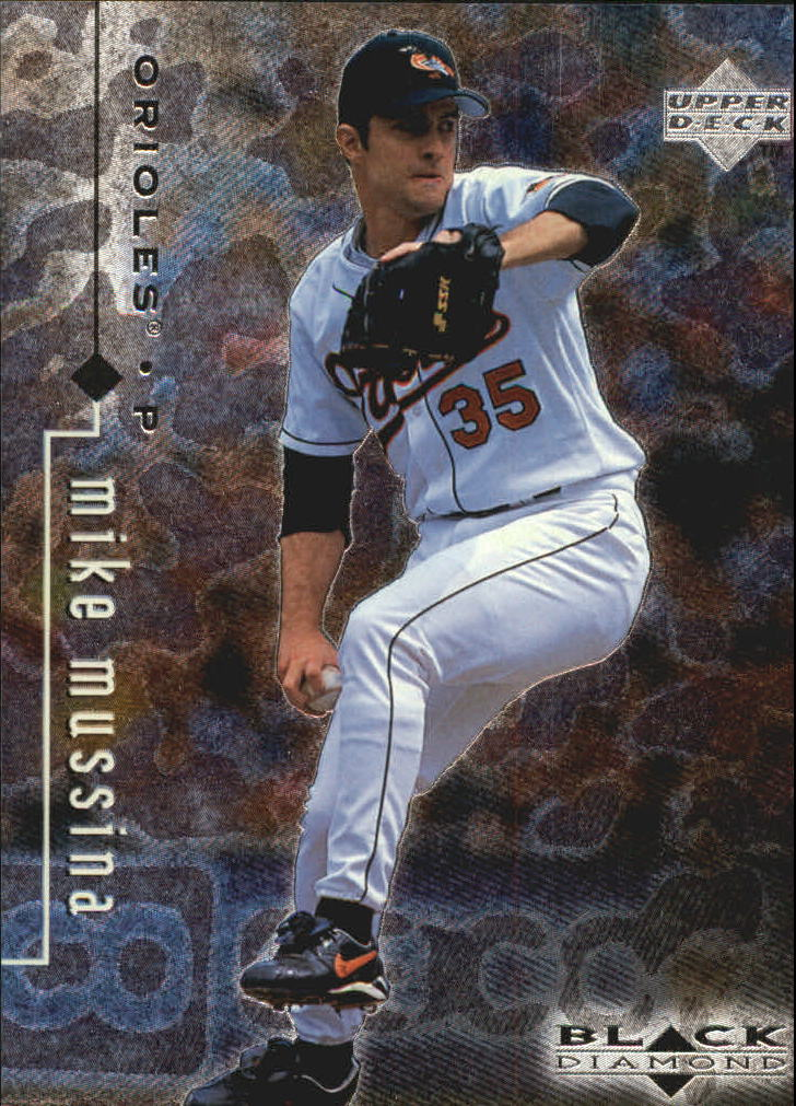1999 Black Diamond #14 Mike Mussina
