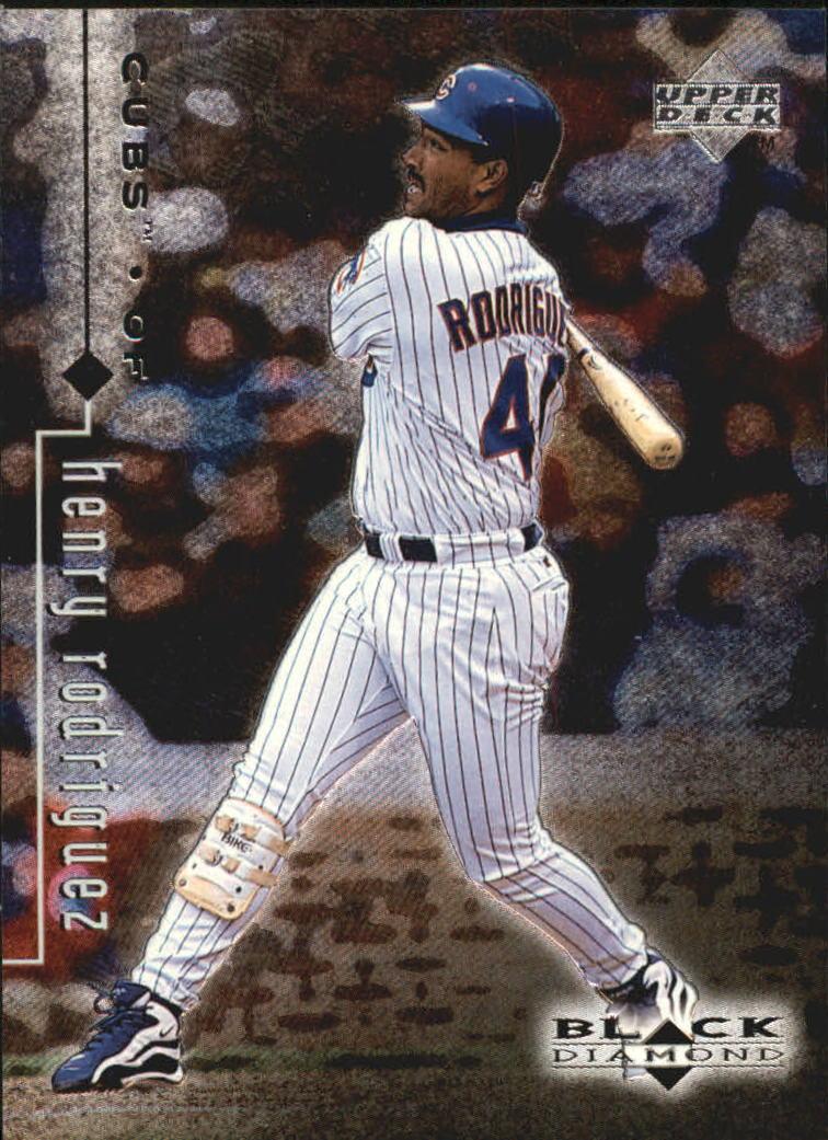 1999 Black Diamond #19 Henry Rodriguez