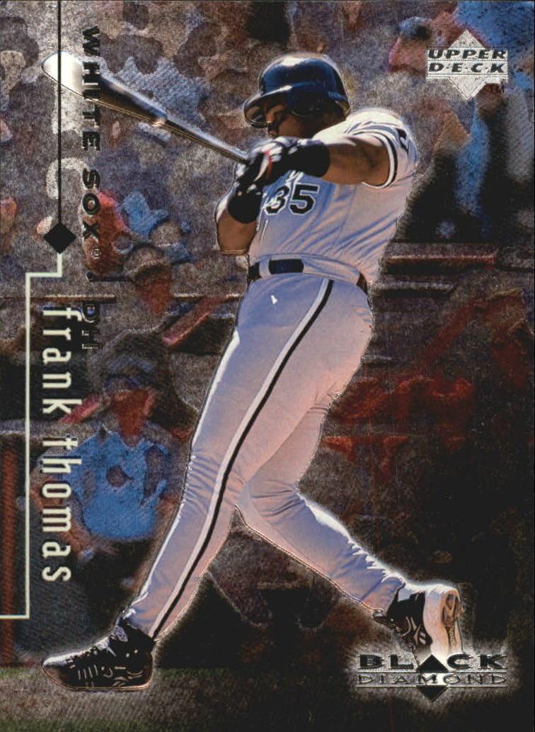 1999 Black Diamond #20 Frank Thomas